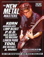 New Metal Masters Learn to Play Tool Audioslave POD Guitar TAB Music DVD