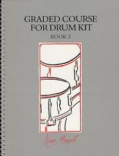 Graded Course For Drum Kit Learn Play Beginner Drummer Music Book 2 & CD