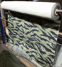 Vietnam TigerStripe Cloth 1 yd 100% Cotton Twill