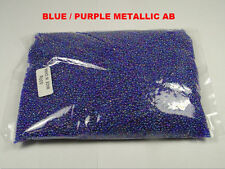 WHOLESALE LOT 500 GRAMS 12/0 GLASS SEED BEADS CLEARANCE (SS-720)
