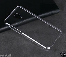"""Crystal Clear Hard Transparent Back Case Cover For Meizu M2 4G (5"""" INCH)"""
