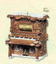 2007 Hallmark MERRY MUSIC FOR SANTA Magic Ornament PLAYER PIANO *Priority Ship