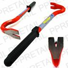 """10"""" PRY/CROW BAR With RUBBER HANDLE Wrecking Breaker Car Trim Clip Remover Tool"""