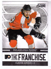 CLAUDE GIROUX - 2011/12 SCORE - THE FRANCHISE - PHILADELPHIA FLYERS