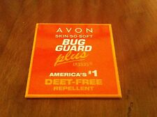 promotional button/pin for Avon Skin-So-Soft Plus repellent Bug Guard Deet Free