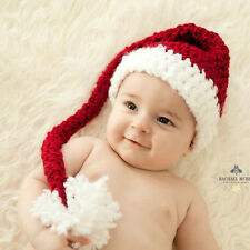 Baby Hand-Knitted Hat Festive Christmas Hat Winter Hats Boys Girls Cute Beanie