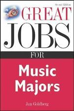 Great Jobs for Music Majors (Great Jobs Series)-ExLibrary