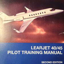 FlightSafety LearJet 40 & Learjet 45 Pilot Training Manual