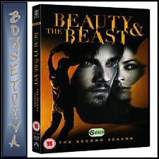 BEAUTY AND THE BEAST - COMPLETE SEASON 2 **BRAND NEW DVD***