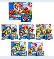 Set of Paw Patrol Figures 6 pcs Pups Chase Zuma Skye Marshall Rocky Toy Gift New