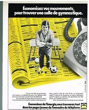 Publicité Advertising 1977 Catalogue Les pages Jaunes