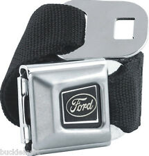 Official FORD Logo Seatbelt Seat Belt with Buckle Taurus Mustang buckledown