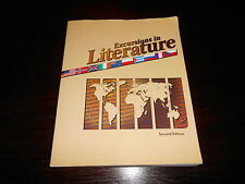 Bju Excursions in Literature Second Ed Bob Jones student textbook homeschooling