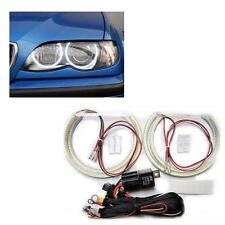 BMW 3 Series E46 Projector Headlight LED SMD Angel Eye Kit 6000K UK Seller