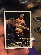 Byron Saxton Signed Topps 2011 WWE Card