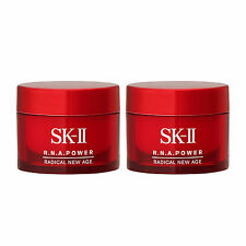 2 x SK-II Radical New Age 15g R.N.A. Power Skincare Moisturizers NEW Anti Aging