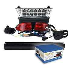 Club Car Precedent Electric Golf Cart Deluxe LED Light Kit w/ Turn Signals 04-08