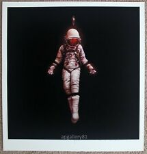 Cosmonaut Fall print by Jeremy Geddes signed and numbered