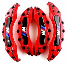 Red BMW M Brake Caliper Cover Universal Disc Racing Front Rear Power 4PCS  NEW