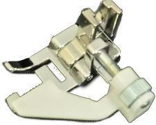 Sewing Machine Presser Foot Edge Stitch Low Shank Adjustable Guide 10400