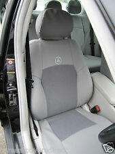 MERCEDES C-CLASS W203 GREY CAR SEAT COVERS