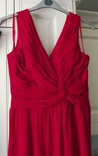 DEFINITIONS - STUNNING RED FULLY LINED DRESS - SIZE 12