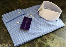 Ralph Lauren Purple Label tailored fit  'Edward' cotton shirt Size 15 New
