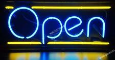 Open Business Neon Sign Real Glass Hand Blown Made Window or Wall [Best Design]