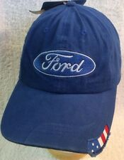 Ford Hat Cap Car F150 250 350 Truck 4x4 Blue Taurus Mustang Vintage Classic New