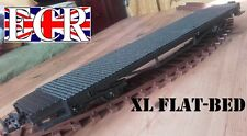 G SCALE 45mm GAUGE XL EXTRA LONG FLATBED 57cm TO BUILD ONTO RAILWAY FLAT TRAIN