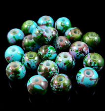 50PCS Loose Round Spacer Beads Charm Jewelry Making Finding 6mm Beautiful