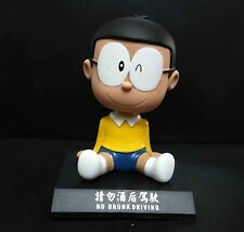 Doraemon Nobita Nobi Shaking his head doll figure 4""