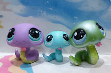Littlest Pet Shop #969 #1828 FAMILY SNAKE KEYCHAIN special edition mommy LPS