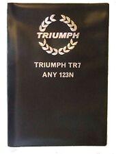 TRIUMPH TR7   DOCUMENT WALLET