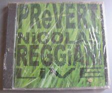 NICOLAS REGGIANI (CD)  PREVERT  LIVE FRANCOFOLIES 2000    NEUF SCELLE