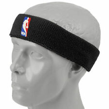NBA Black Logoman Headband - NBA