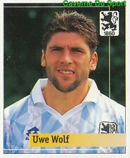 194 UWE WOLF GERMANY TSV.1860 MUNCHEN STICKER FUSSBALL 1995 PANINI