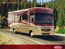 2008 Winnebago Voyage Motorhome Camper Original Car Sales Brochure Catalog