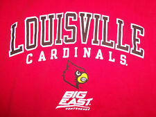 NCAA Louisville Cardinals Big East Conference Red Graphic T-Shirt - XXL