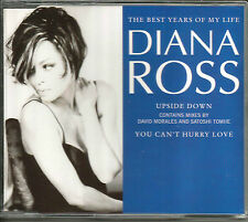 DIANA ROSS Best Years of My Life & EUPSIDE DOEN REMIX & DUB UK CD single SEALED