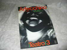 PICCOLO TEATRO 3 MILANO N.3 1979 ARLECCHINO SERVITORE DI DUE PADRONI GOLDONI