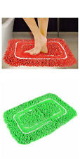 Exporthub Beautiful Shaggy Bath Mat Set of 2- Red Color
