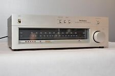 Technics ST-8044 Stereo am/fm Tuner Works Vintage Silver Face