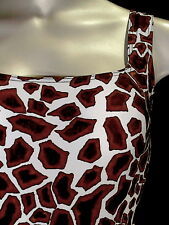 COSABELLA StringBody Bodysuit AFRICA Brown GIRAFFE M  NWT Outstanding PATTERN!