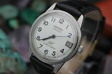 Vintage LONGINES Ultra-Chron Cal. 431 Hi-Beat Stainless Steel Men's Dress Watch
