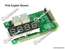 NEW 6-Digit Motherboard CPU VGA PC Test Card Tester Laptop Diagnostic & Analysis