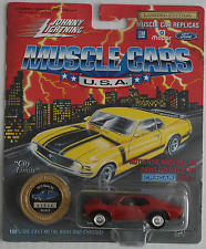 Johnny Lightning -'72/1972 Chevy Nova ss rouge Nouveau/OVP