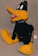 """12"""" Daffy Duck Looney Tunes Plush Dolls Toys 1998 Russell Stover Candies W/Tag"""