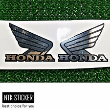 "HRC Decals Sticker Honda SILVER Wing Mulisha Motorcycle Big Bike 219 ""L"" Size 2X"