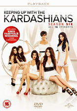 KEEPING UP WITH THE KARDASHIANS - SERIES 6 - DVD - REGION 2 UK